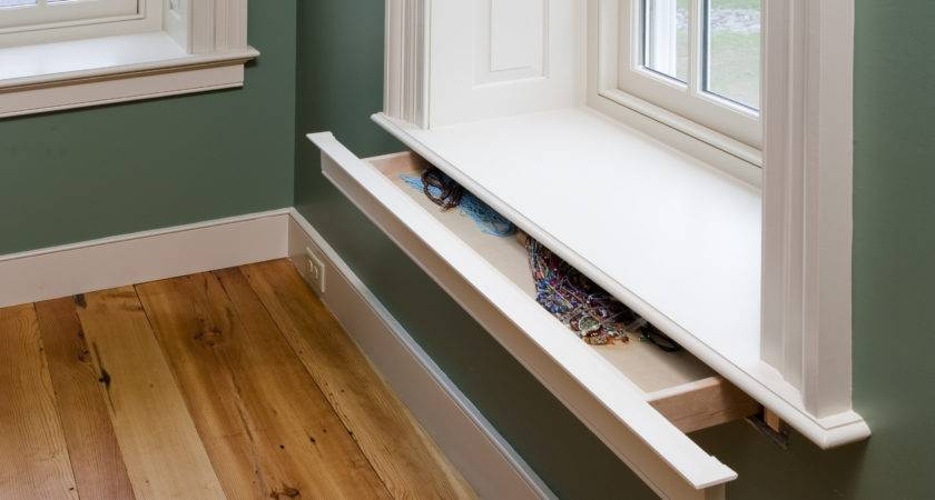 Secret Drawer Window Sill Stashvault