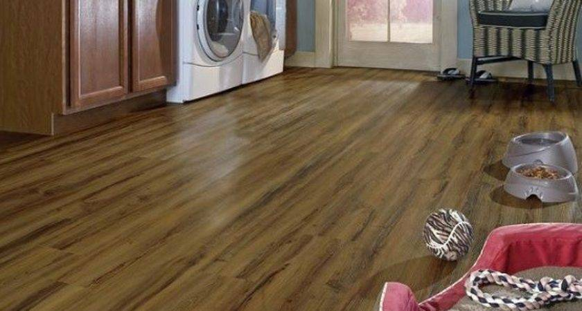 Selecting Best Flooring Laundry Room