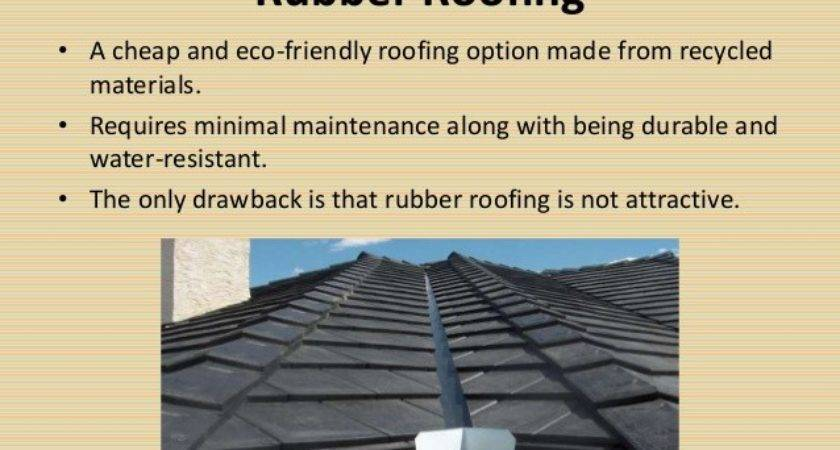 Selecting Best Roofing Material