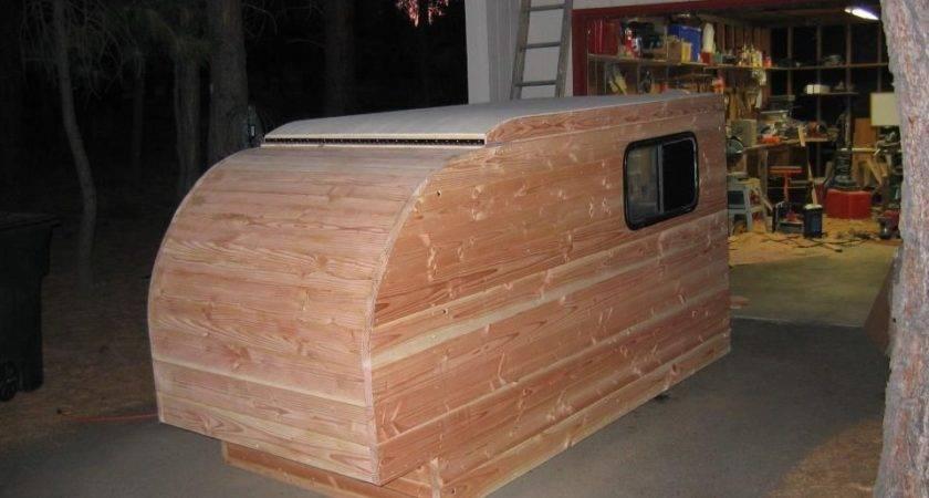 Self Made Wooden Camper Kleine Cabine Deutsch