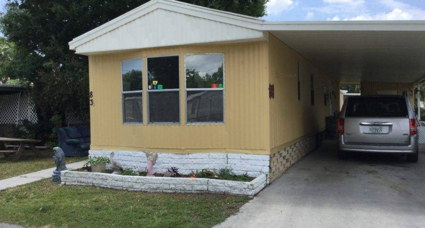 Senior Retirement Living Park Mobile Home
