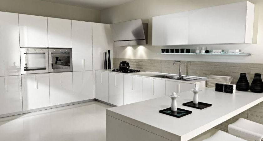 Serene White Kitchen Interior Design Ideas Https
