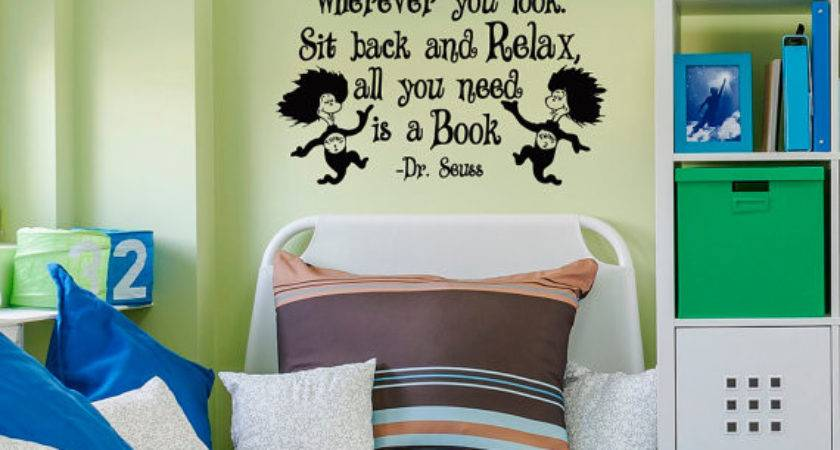 Seuss Wall Decals Quotes Can Find Magic Wherever