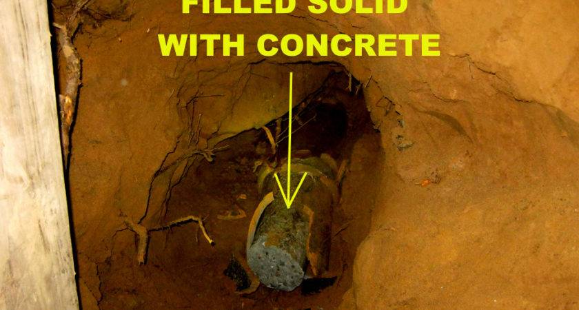 Sewer Line Replacement Needed Builder Breaks Home