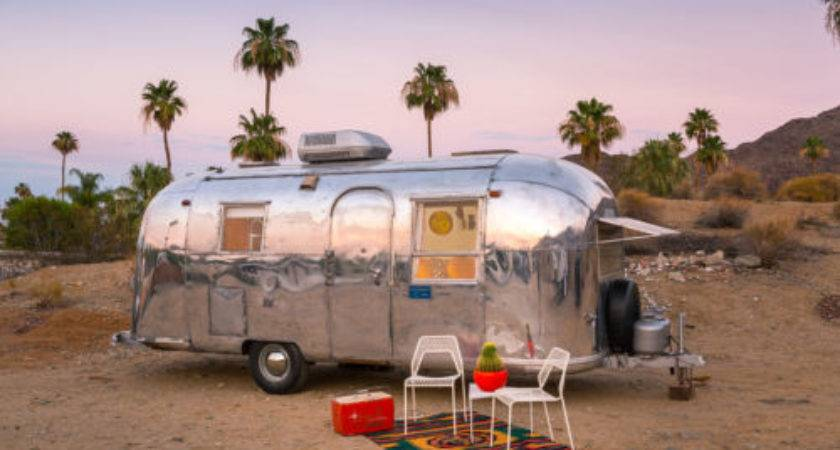 Sexy Palm Springs Airstream Sale