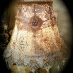 Shabby Chic Crochet Lampshade Doily Lamp Shade Gorgeous