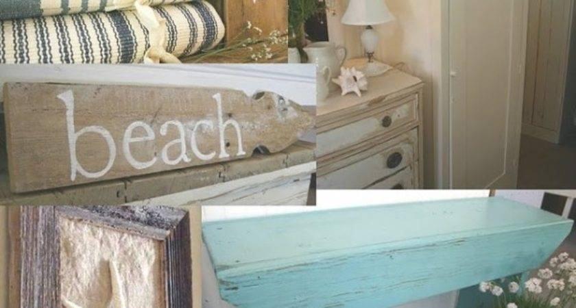 Shabby Chic Meets Beach Decor