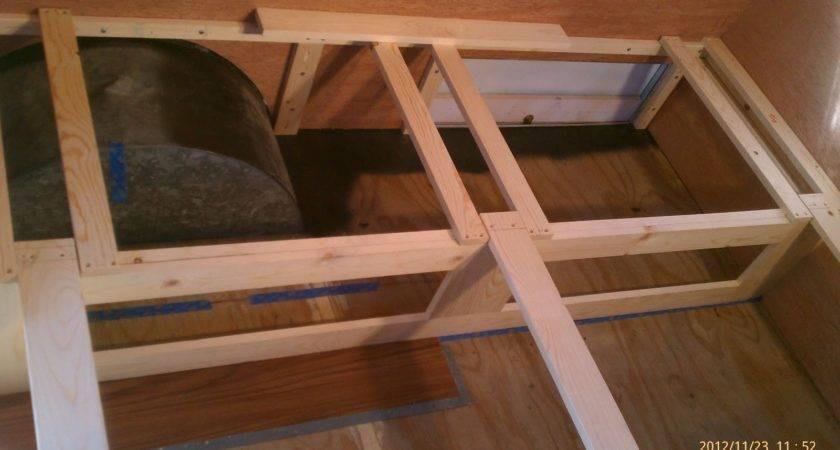 Shasta Trailer Project Gaucho Bed Bench