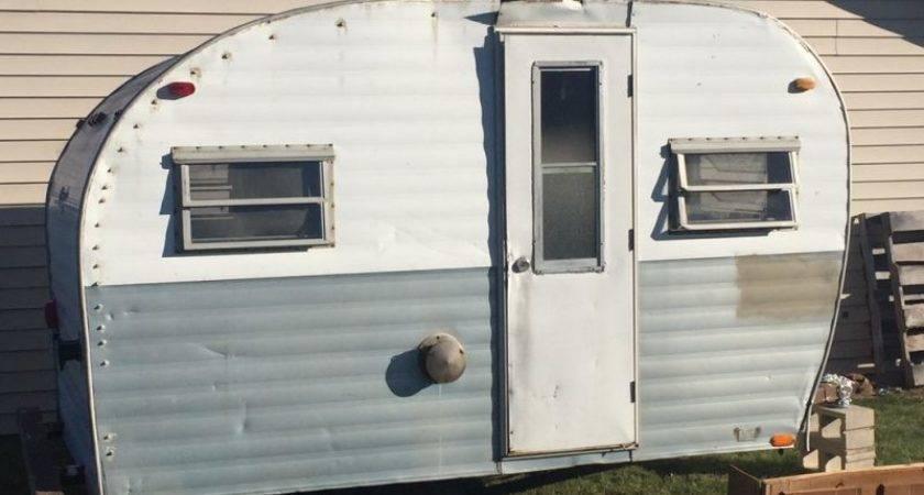 She Shed Vintage Camper Redo Places