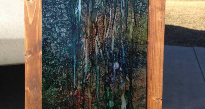 Sheet Metal Wall Art Modern Home Texturehomedecor