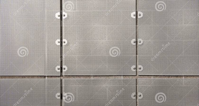 Sheet Metal Wall Screen