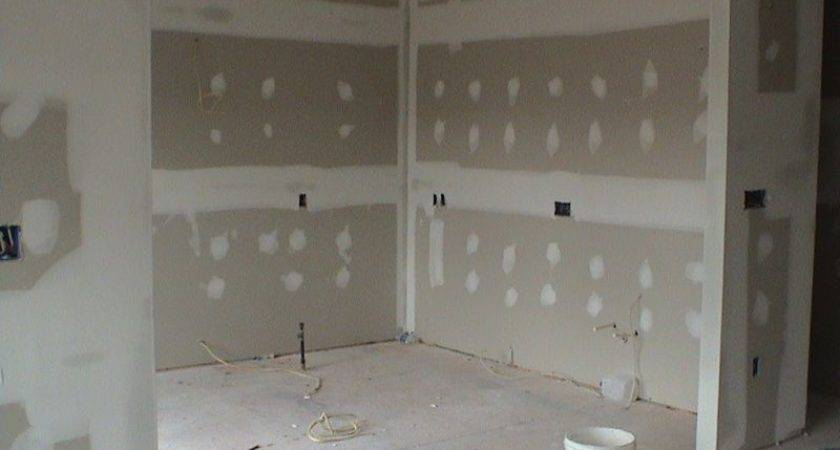 Sheetrock Wall Unfinished Treatments Pinterest