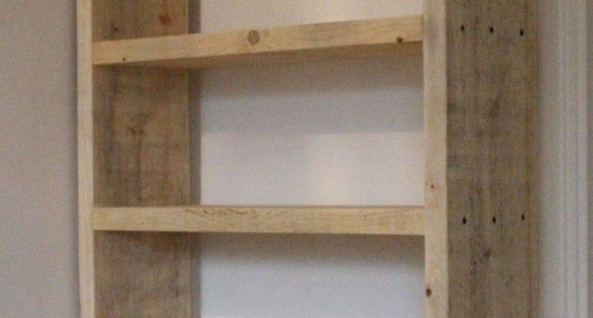 Shelves Made Out Pallets Nana Workshop