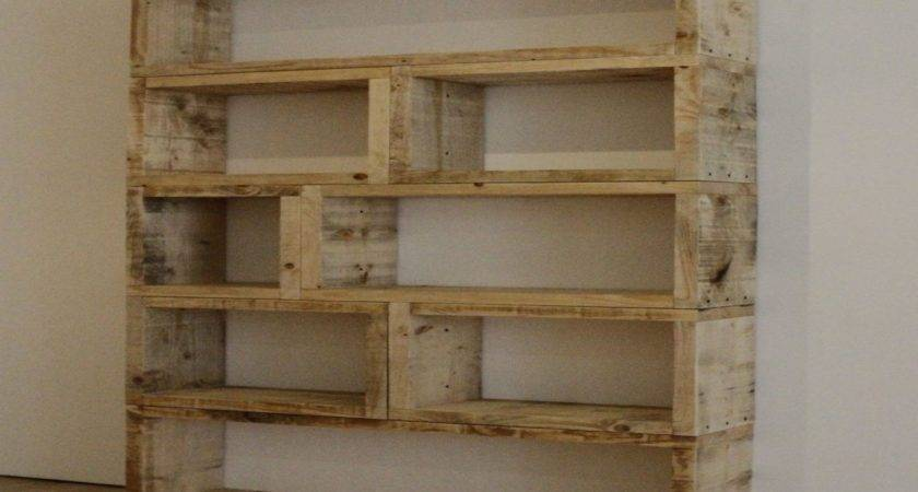Shelves Made Out Pallets Nana Workshop