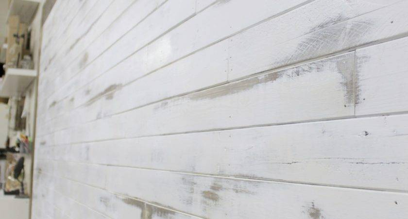 Shiplap Wall Distressing News Mccall Manor