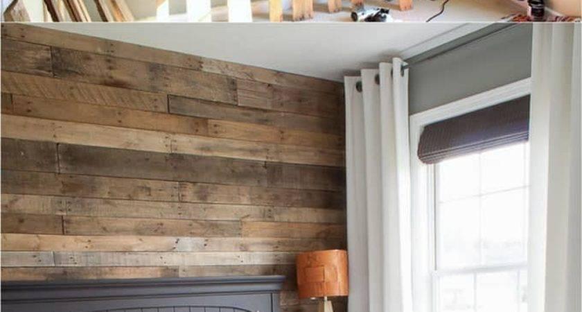 Shiplap Wall Pallet Beautiful Diy Wood