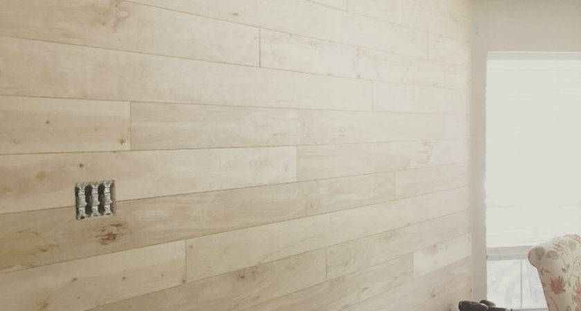 Shiplap Walls Cheap Easy Way Little Red Brick House