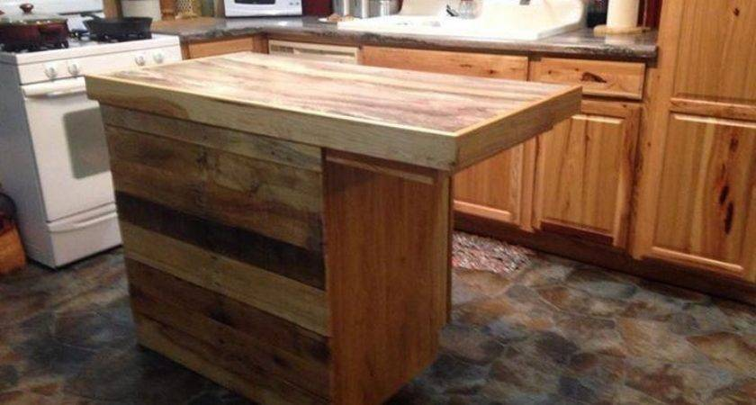 Shipping Pallet Kitchen Furniture Projects Idea