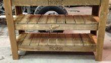 Shoe Rack Made Out Pallets Home