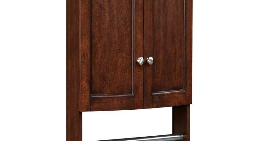 Shop Allen Roth Moravia Sable Storage Cabinet Common