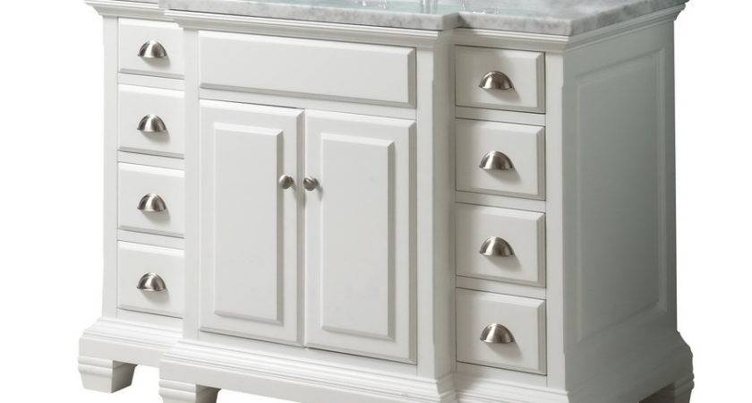 Shop Allen Roth Vanover White Undermount Single Sink