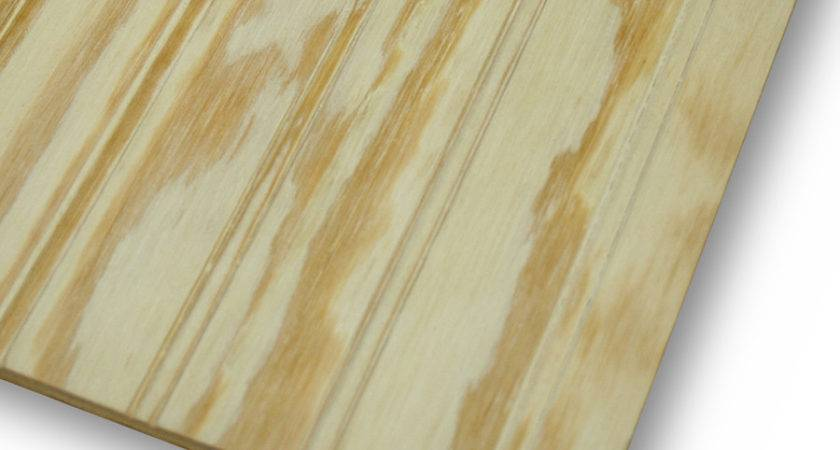 Shop Beaded Plywood Untreated Wood Siding Common