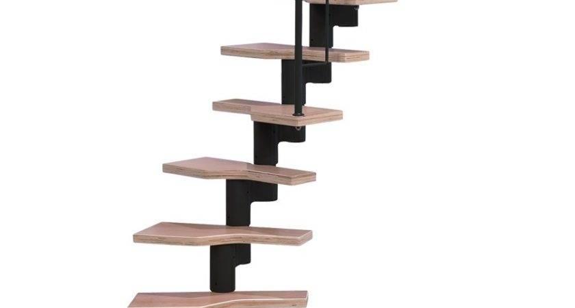 Shop Dolle Graz Black Modular Staircase Kit