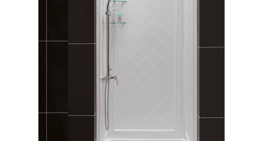 Shop Dreamline Shower Base Back Walls White Acrylic
