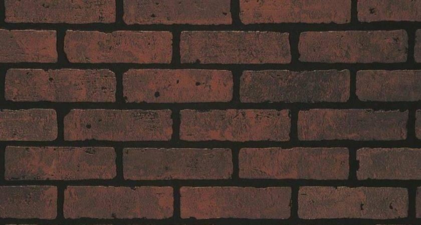 Shop Embossed Red Brick Hardboard Wall