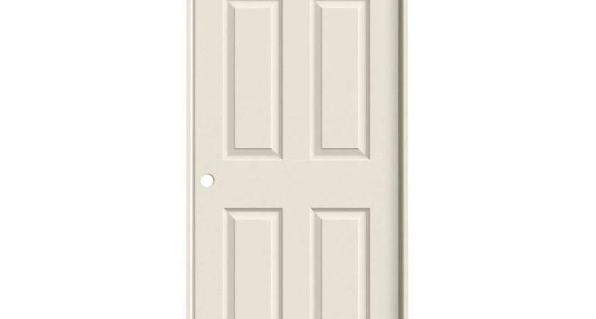 Shop Jeld Wen Panel Single Prehung Interior Door Common