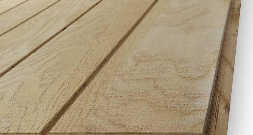Shop Natural Wood Plywood Untreated Siding Panel
