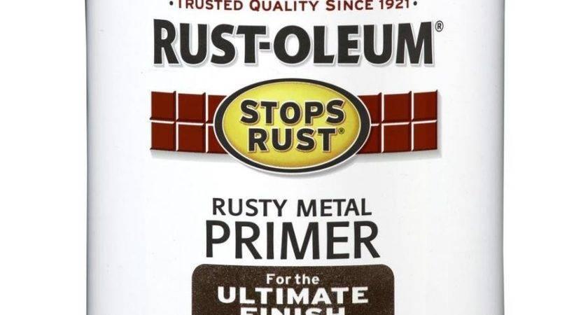 Shop Rust Oleum Stops Rusty Red Flat Oil Based Enamel