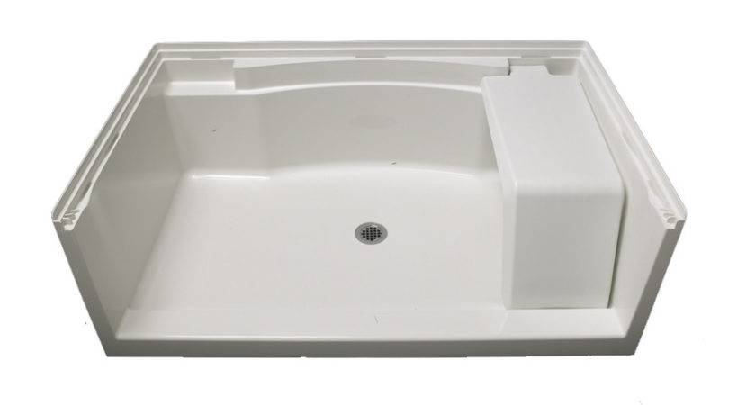 Shop Sterling Accord White Vikrell Shower Base Common