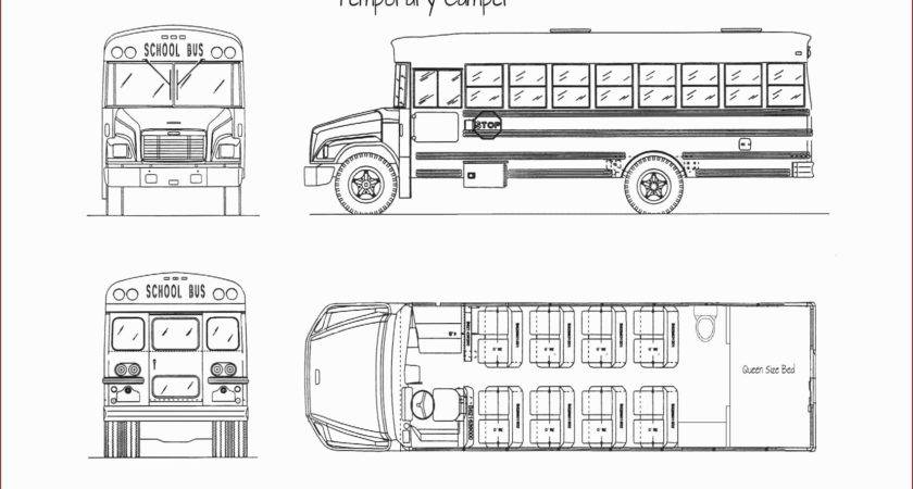 Short Bus Conversion Plans Elegant School