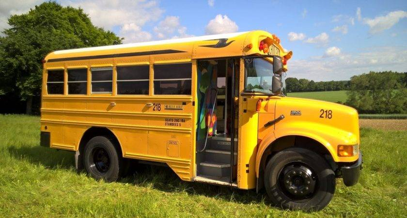 Short School Bus Conversion Bing
