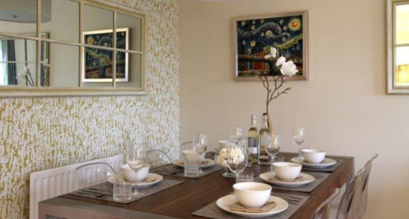 Show Home Dining Room Transitional