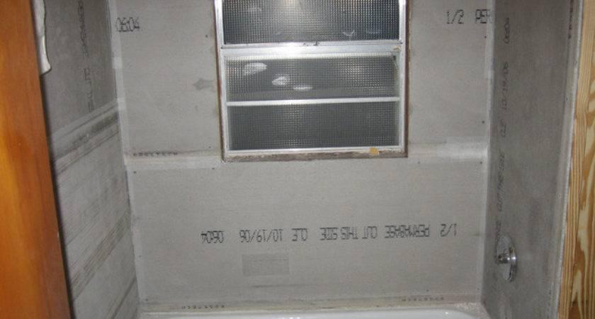 Shower Tile Backer Board Design Ideas