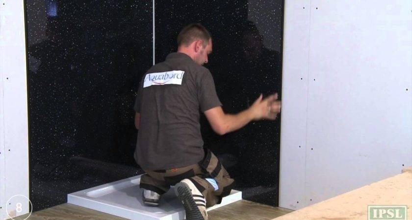 Shower Wall Panels Install Aquabord Ipsl