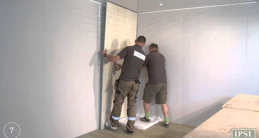 Shower Wall Panels Install Aquabord Laminate