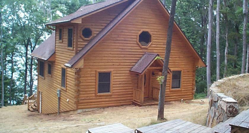 Siding Flint River Log Homes