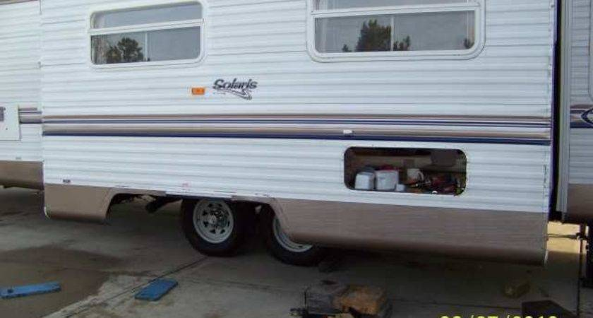 Siding Repairs Aluminum Camper Repair