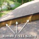 Siding Repairs Plywood Repair