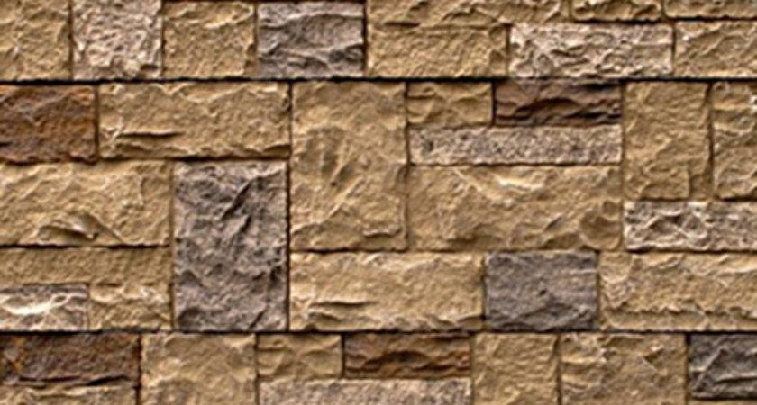 Siding Stone Faux Houses
