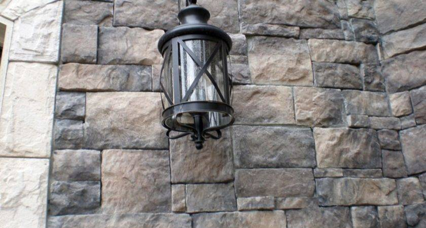 Siding Stone Faux Houses