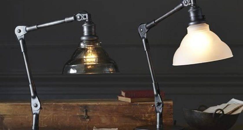 Sidney Vintage Task Table Lamp Pottery Barn