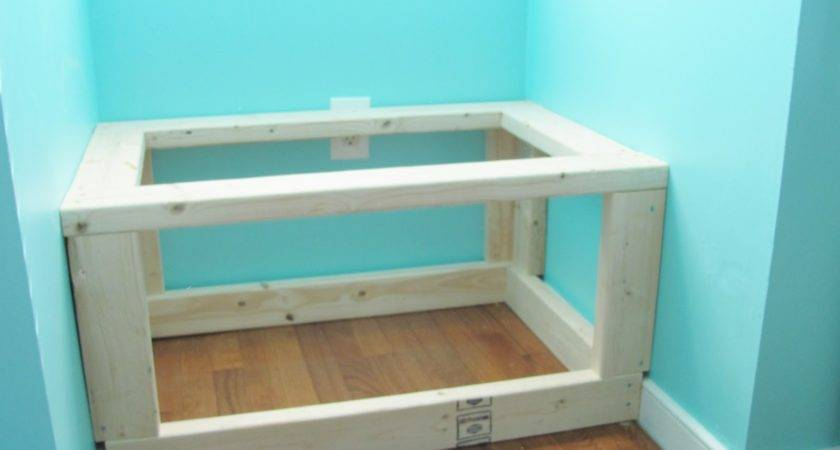 Silver Lining Decor Diy Built Window Seat Storage