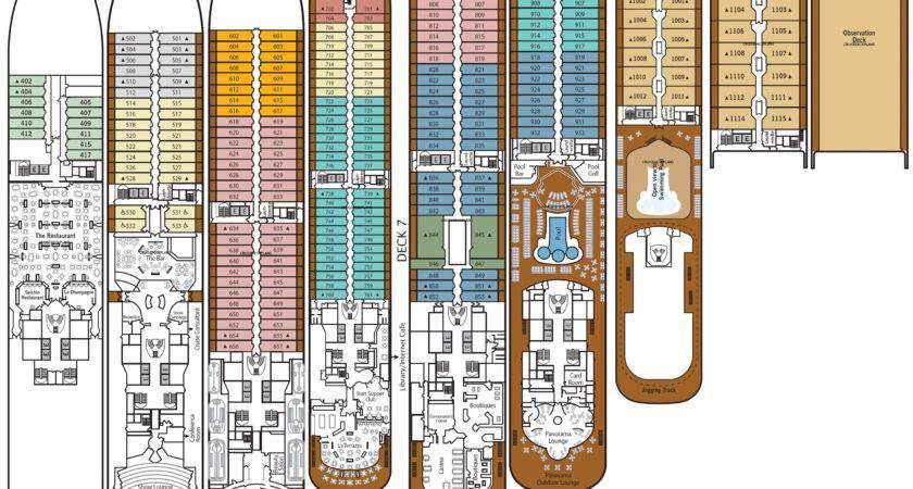 Silver Spirit Deck Plan Tour