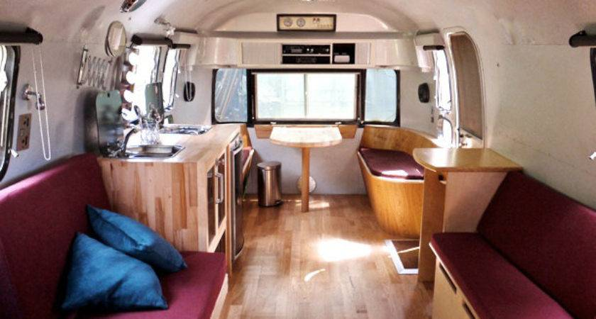 Silver Stage Airstream Interior Flickr Sharing
