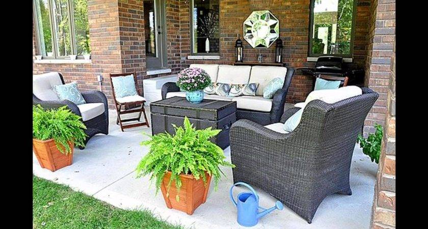 Simple Back Porch Decorating Ideas Youtube