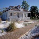 Simple Creole Beach Cottage Old House